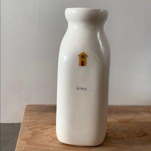 "⭐️ MilkJar ""Home"" Ceramic Vase ⭐️"